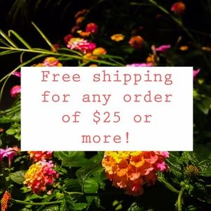 📦 FREE SHIPPING 📦 FOR ORDERS $25 AND MORE‼️